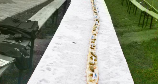 Rekordowa kanapka ze smalcem